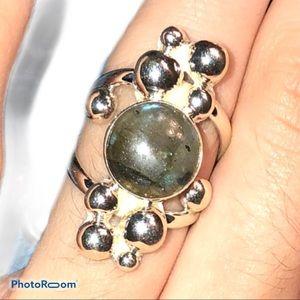 Jay King Labradorite ring